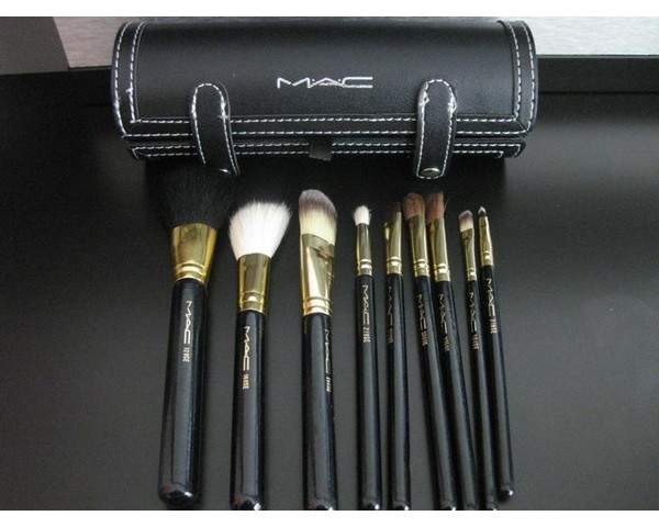 set brochas maquillaje mac